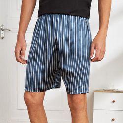 Homme Short de pyjama à rayures - SHEIN - Modalova