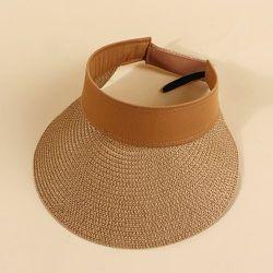 Chapeau de visière à paille - SHEIN - Modalova