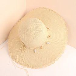 Chapeau de Paille Décor Coquillage - SHEIN - Modalova
