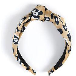 Serre-tête léopard à nœud - SHEIN - Modalova