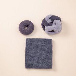 Pièces Élastique à cheveux à blocs de couleurs & 1 pièce Bandeau pour cheveux - SHEIN - Modalova