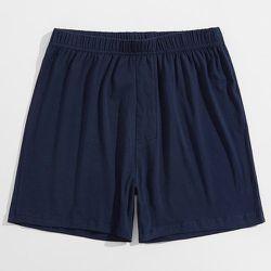 Short de pyjama unicolore taille élastique - SHEIN - Modalova