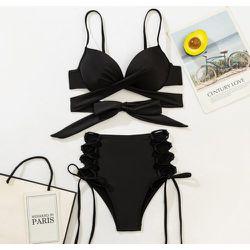 Bikini push-up croisé - SHEIN - Modalova