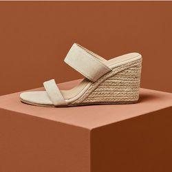 Mules compensées espadrilles minimaliste - SHEIN - Modalova