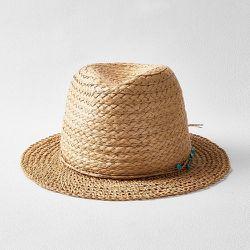 Chapeau de paille à pierre - SHEIN - Modalova