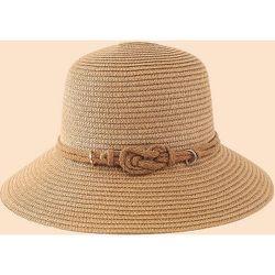 Chapeau de paille à corde - SHEIN - Modalova