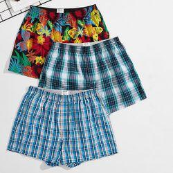 Short de pyjama à imprimé floral et carreaux - SHEIN - Modalova