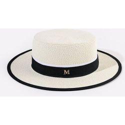 Chapeau de paille à lettres - SHEIN - Modalova