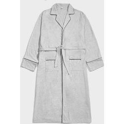 Robe de chambre ceinturée avec poches - SHEIN - Modalova
