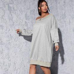 Robe sweat-shirt oversize - SHEIN - Modalova