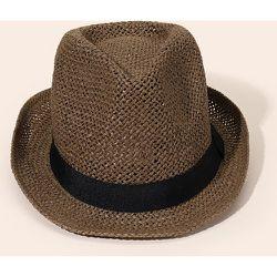 Chapeau de paille bicolore - SHEIN - Modalova