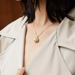 Collier avec pendentif à perle - SHEIN - Modalova