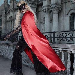 Cape Costume d'halloween à nœud à capuche - SHEIN - Modalova