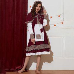 Costume du petit chaperon rouge & Cape - SHEIN - Modalova