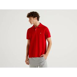 Benetton, Polo Rouge Coupe Regular, taille EL, Rouge - United Colors of Benetton - Modalova