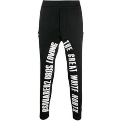 Graphic lettering track pants , , Taille: XL - Dsquared2 - Modalova
