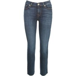 THE Straight Crop Soho Jeans With RAW CUT , , Taille: W30 - 7 For All Mankind - Modalova