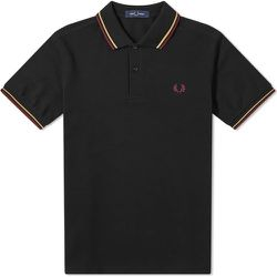 Slim Fit Twin Tipped Polo , , Taille: L - Fred Perry - Modalova