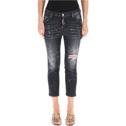Cropped jeans , , Taille: 42 IT - Dsquared2 - Modalova