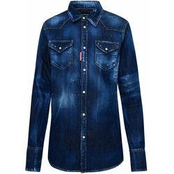 Dark Western Shirt , , Taille: 42 IT - Dsquared2 - Modalova