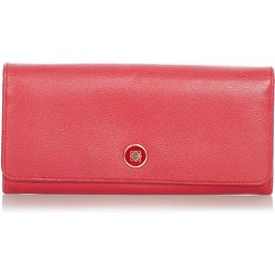 Portefeuille long en cuir Anagram d'occasion , , Taille: Onesize - Loewe Pre-owned - Modalova