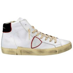 High top leather sneakers prsx , , Taille: 43 - Philippe Model - Modalova