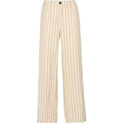 Pantalon Ancho Lino Rayas , , Taille: 38 - Pomandère - Modalova