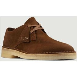 Khan suede leather desert boots - Clarks - Modalova