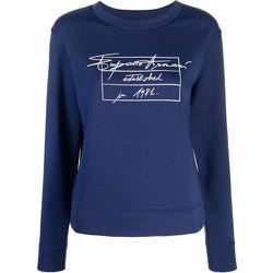 Logo Print Sweatshirt , , Taille: 42 IT - Emporio Armani - Modalova
