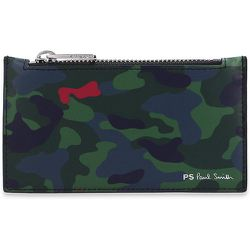 Card holder with camo pattern , , Taille: Onesize - PS By Paul Smith - Modalova