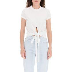 Wrap-over t-shirt , , Taille: XS - Dsquared2 - Modalova
