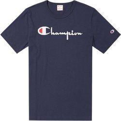 Reverse Weave Script Logo T-shirt , , Taille: M - Champion - Modalova