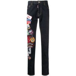 Icon Patch Cool Guy Jeans , , Taille: 46 IT - Dsquared2 - Modalova