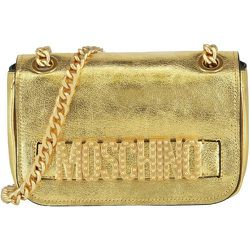 Logo Leather Shoulder Bag , , Taille: Onesize - Moschino Pre-owned - Modalova