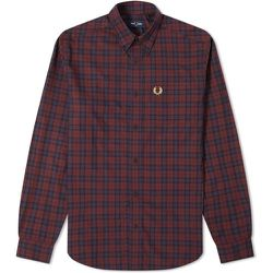 Authentic Button Down Winter Tartan Shirt , , Taille: L - Fred Perry - Modalova