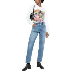 High Waist Straight Jeans , , Taille: 40 IT - MM6 Maison Margiela - Modalova