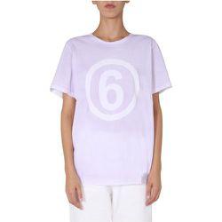 Crew Neck T-Shirt , , Taille: S - MM6 Maison Margiela - Modalova