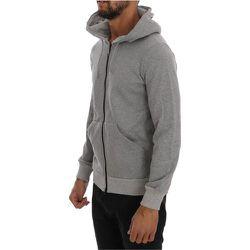 Full Zipper Hodded Cotton Sweater - Daniele Alessandrini - Modalova
