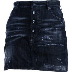 Icon Wash Denim Skirt , , Taille: 40 IT - Dsquared2 - Modalova