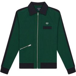 Reissues Slanted Zip Track Jacket , , Taille: L - Fred Perry - Modalova