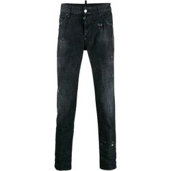 Black Denim Skater Jeans , , Taille: 48 IT - Dsquared2 - Modalova