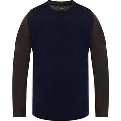 Sweater with logo , , Taille: L - PS By Paul Smith - Modalova