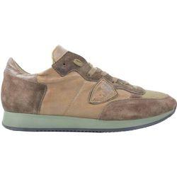 Sneakers Cuir et Daim , , Taille: 44 - Philippe Model - Modalova