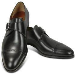 Calf Leather Monk Strap Shoes , , Taille: 46 - Fratelli Rossetti - Modalova