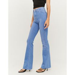 Jean Flare Taille Haute Bleu - Tw - Modalova