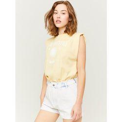 Short en Jean Taille Haute Paperbag - Tw - Modalova