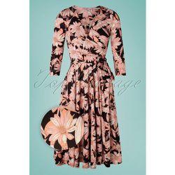 Colette Floral Swing Dress Années 50 en et - vintage chic for topvintage - Modalova