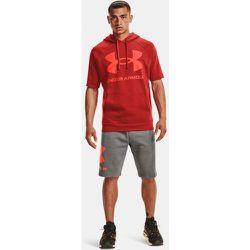 Sweat à capuche et manches courtes UA Rival Fleece Big Logo - Under Armour - Modalova