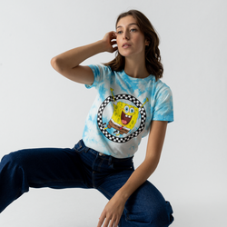Tee Shirt X Sponge Bob Jump Out - Vans - Modalova