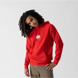 Hoodie 3d Trefoil Rouge - adidas Originals - Modalova